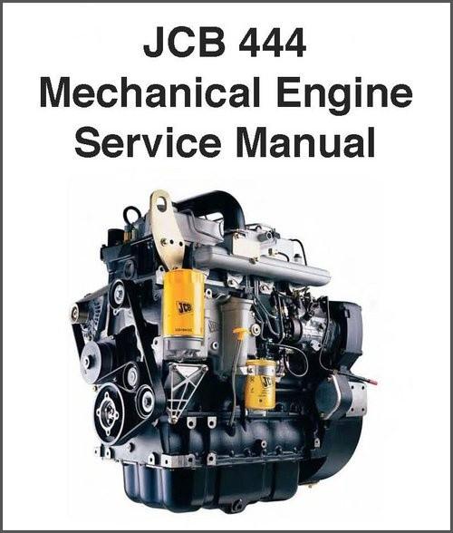 JCB 444 , 448 Dieselmax Mechanical Engine Service Repair Workshop Manual