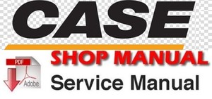 Case CX31B, CX36B Mini Excavator Service Repair Workshop Manual