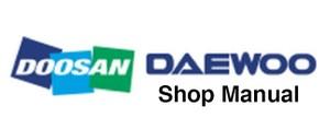 Doosan DX60R Excavator Service Repair Shop Manual (S/N: 50001 and Up)