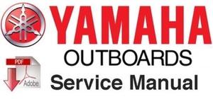 Yamaha 40HP, 50HP 2-Stroke (40N , 40EN , 50ETN) Outboards Service Repair Workshop Manual 1984-1987