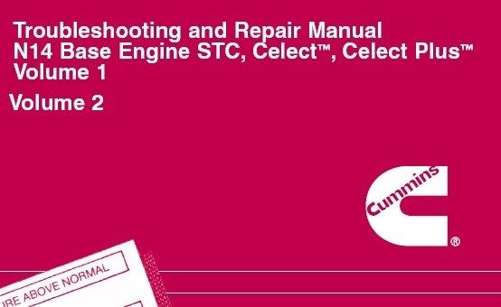 Cummins n14 celect plus manual