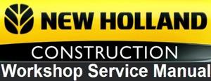 New Holland LS180.B, LS185.B, LS190.B Skid Steer Loader Service Repair Workshop Manual