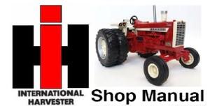 IH International Harvester 786-886-986-1086 Tractor Shop Service Manual