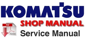 Komatsu PC12R-8, PC15R-8 Hydraulic Excavator Service Manual (S/N: F30001 and up, F20001 and up)