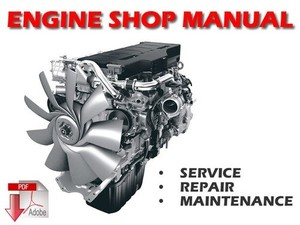 Scania Industrial and Marine Engines 12 litre Engine Service Repair Workshop Manual