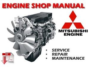 Mitsubishi 4G1 Series Engine Workshop Service Repair Manual ( 4G13 , 4G15 , 4G18 )