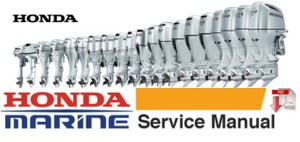 Honda BF20A , BF25A , BF25D , BF30A , BF30D Outboard Service Repair Manual
