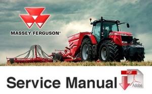 Massey Ferguson MF 8200 Series MF-8210, 8220, 8240, 8250, 8250, 8260, MF-8270, MF-8280 SM
