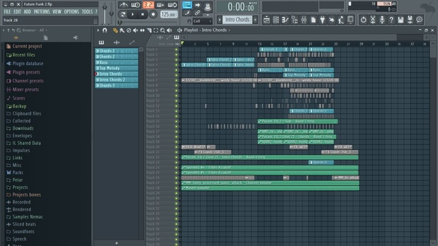 fl studio template future funk project 2 flp
