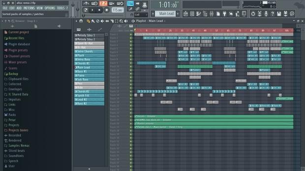 [Full] [FL Studio Template] Deep House Project 2 (+FLP)