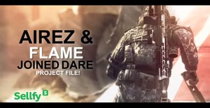 Airez & Flame - Joined Dare (Project File)