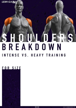 COMPLETE SHOULDER WORKOUT