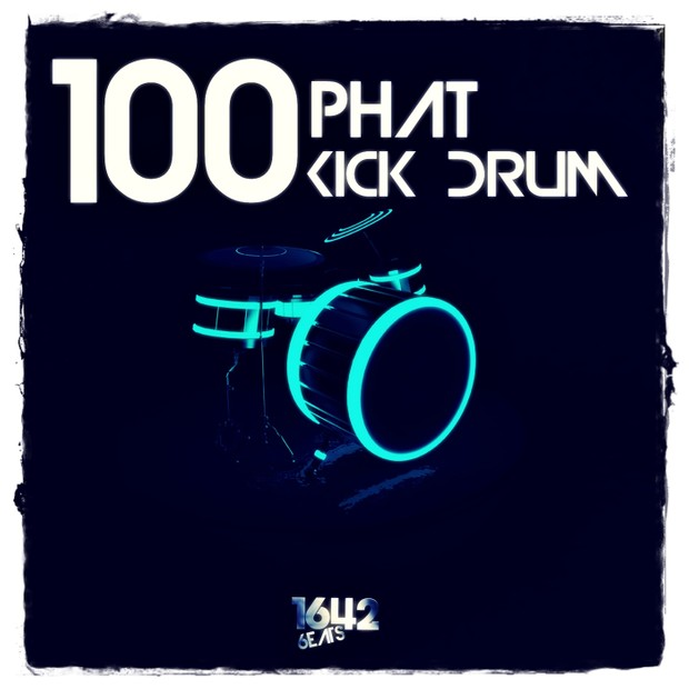 100 Phat Kick Drum for All Genres - EDM House Progressive Techno Future Deep FL