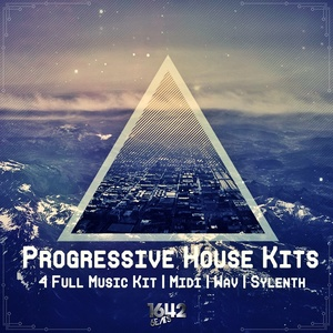 Progressive House Kits [1642 Beats] (24-Bit WAV / KIT / MIDI / SYLENTH)