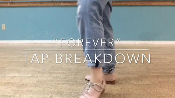 "Taylor Nunemaker - ""Forever"" Justin Bieber Tap Combo Breakdown"