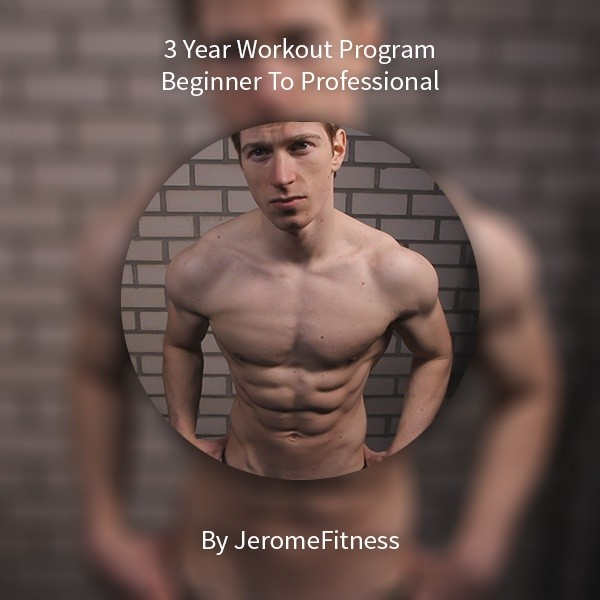 Full 3 Year Workout Program: From Beginner To Professional