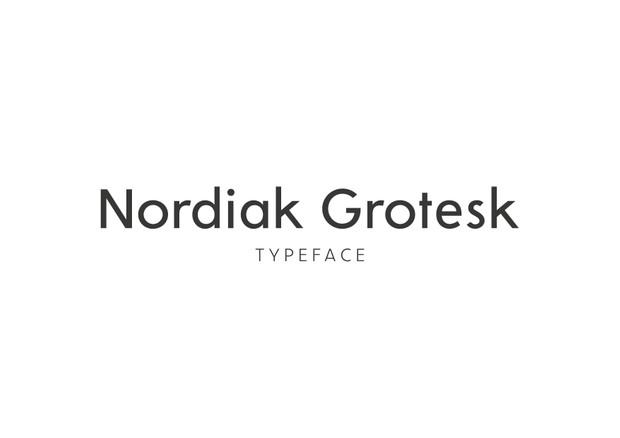Nordiak Grotesk Medium (& Italic)