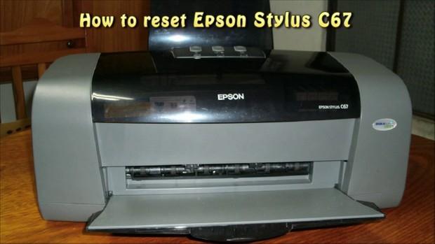 Epson c67 printer resetter