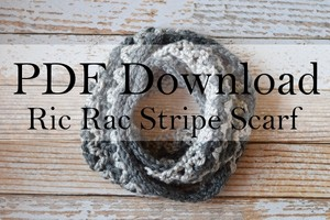 Ric Rac Scarf PDF Download