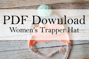 Women's Trapper Hat PDF Download