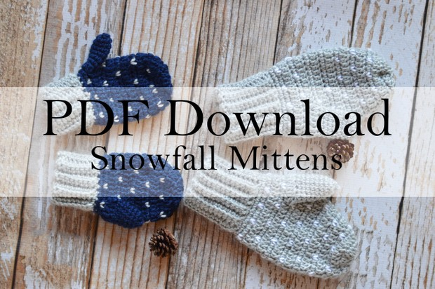 Snowfall Mittens PDF Download