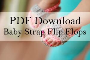 Baby Strap Flip Flops PDF Download