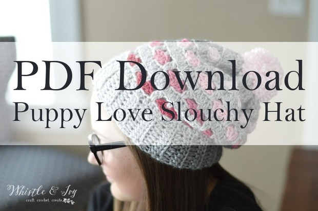 Puppy Love Heart Slouchy PDF Download