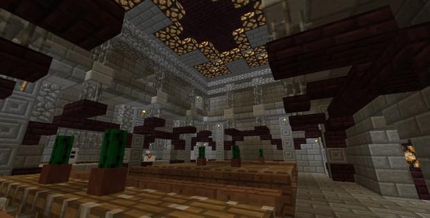 Minecraft prison map.