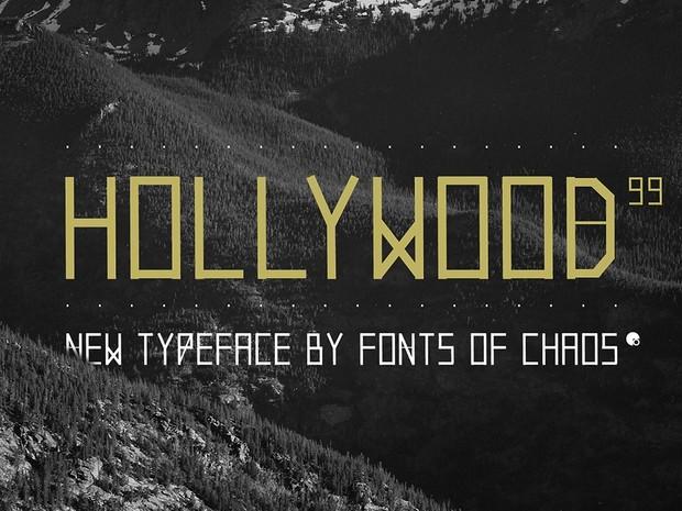 HOLLYWOOD99 - Font.