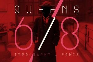 Queens 68 - Font.