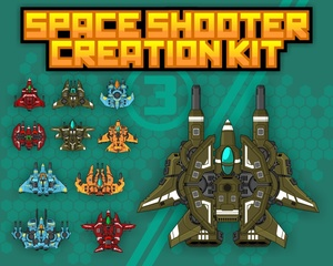 Space Shooter Creation Kit 3
