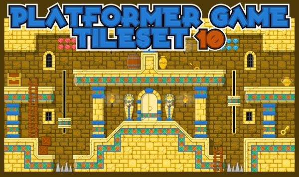 The Pyramid - Game Tileset
