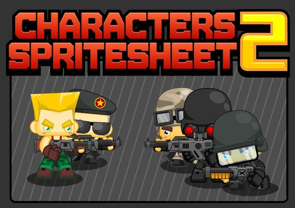 The Soldiers - Game Sprites