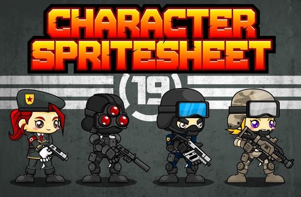 Spec Ops - Game Sprites