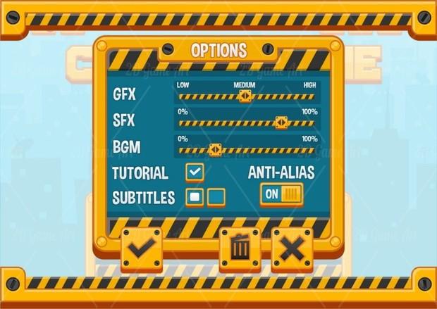 City Builder - Game GUI