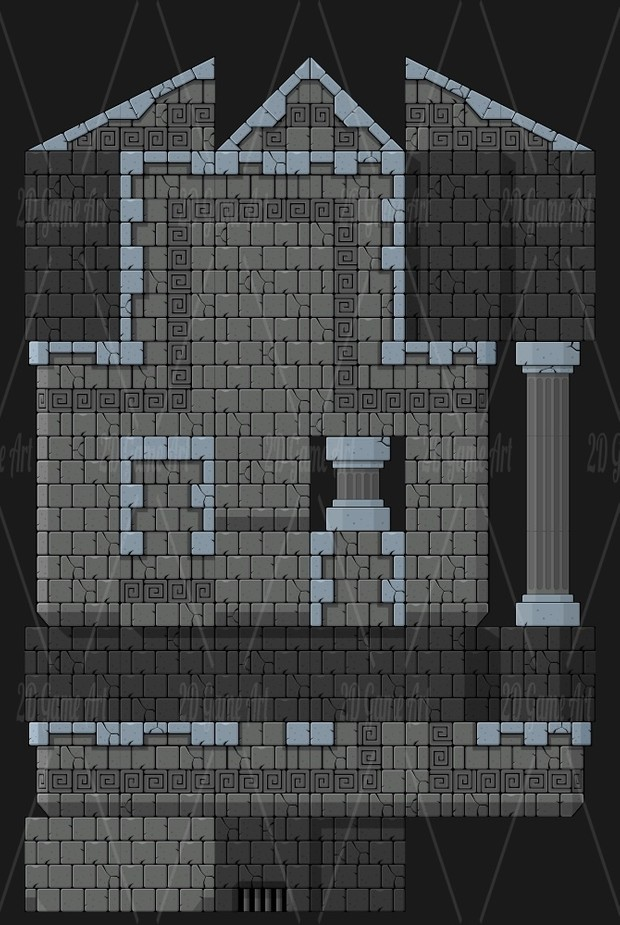 The Dungeon - Game Tileset