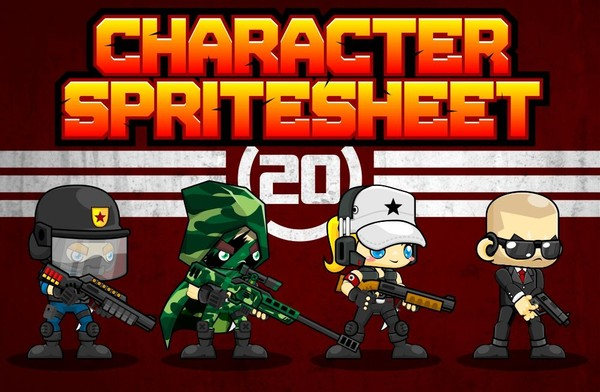 Special Soldier - Game Sprites