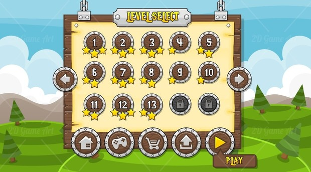 Tower Defense - Game GUI