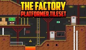 The Factory - Platformer Tileset