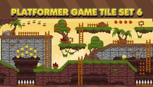 The Jungle - Game Tileset