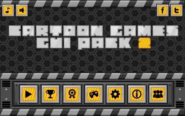 Futuristic Game GUI