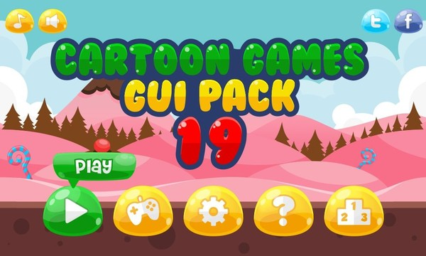 Jelly Crush Saga - Game GUI
