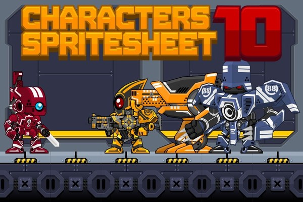 The Mecha - Game Sprites