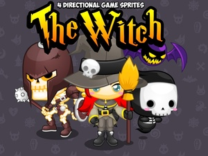 The Witch - Game Sprites