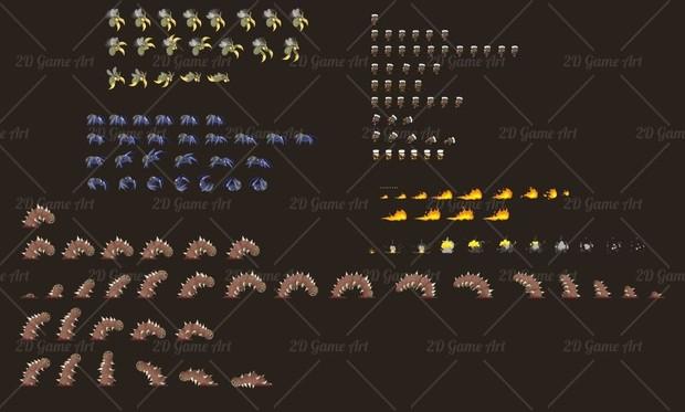 The Exterminator - Game Sprites