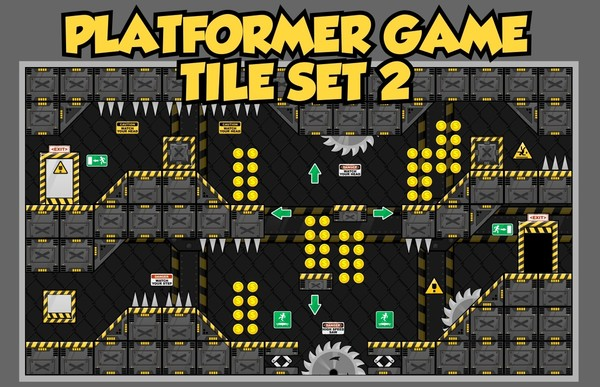 Robot Factory - Game Tileset