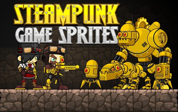 Steampunk Game Sprites