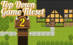 The Inn - Top-Down Game Tileset