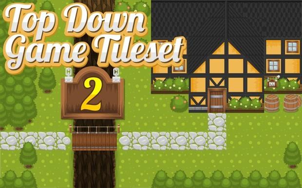 The Inn - Top-Down Game Tileset