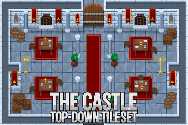 The Castle - Top Down Tileset